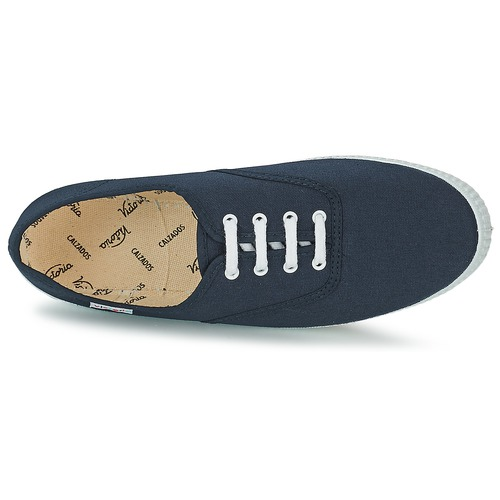 Bajas Inglesa Marino Zapatillas Victoria Lona Zapatos 80XZNwOPnk