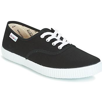 Zapatos Zapatillas bajas Victoria INGLESA LONA Negro