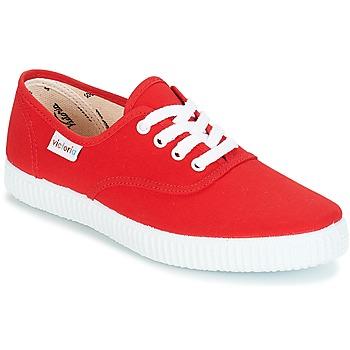 Zapatos Zapatillas bajas Victoria INGLESA LONA Rojo