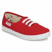 Zapatos Niños Zapatillas bajas Victoria 6613K Rojo