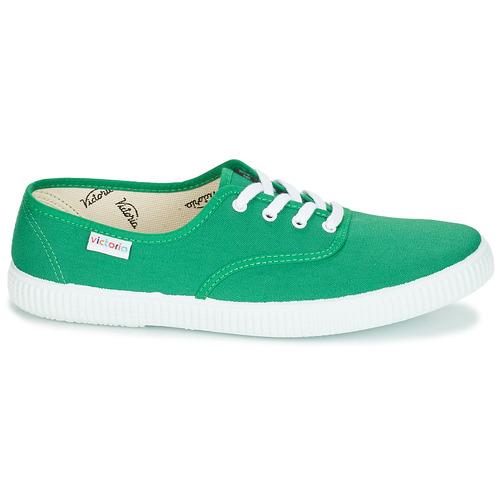 Zapatillas Bajas Lona Victoria Verde Zapatos Inglesa lFcTKJ1