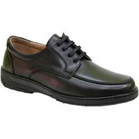 Zapatos Hombre Derbie Primocx Zapato cordones hombre especial para diabéticos extra cómodo negro
