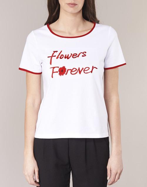 Manga Innatimbi Camisetas Betty Mujer Corta London BlancoRojo Textil OPkXTuZi