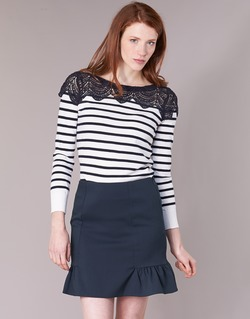 textil Mujer jerséis Naf Naf MLACY Crudo / Marino