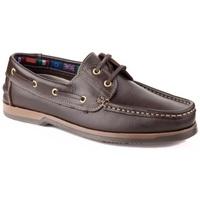 Zapatos Zapatos náuticos Bipedes carlos manuel 110 castanho Marrón