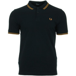 textil Hombre Tops y Camisetas Fred Perry Twin Tipped  Shirt Azul