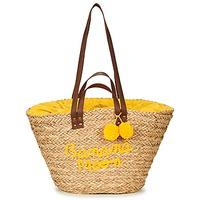 Bolsos Mujer Bolso shopping Banana Moon LACELY WOODRAW Natural / Amarillo