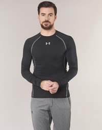 textil Hombre Camisetas manga larga Under Armour LS COMPRESSION Negro