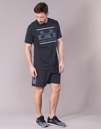 textil Hombre Shorts / Bermudas Under Armour WOVEN GRAPHIC WORDMARK SHORT Negro
