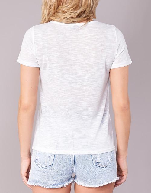 Yurban Camisetas Corta Manga Textil Mujer Itnola Crudo L3R5A4j