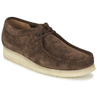 Zapatos Hombre Derbie Clarks WALLABEE Oscuro
