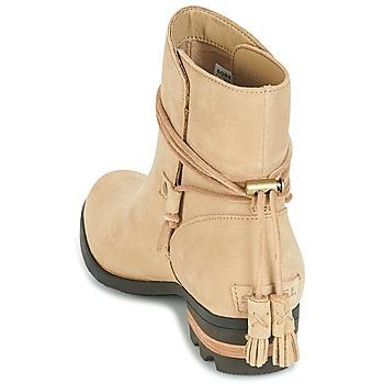Sorel Farah Short Beige - Envío gratis |  - Zapatos Botas de caña baja Mujer 13600