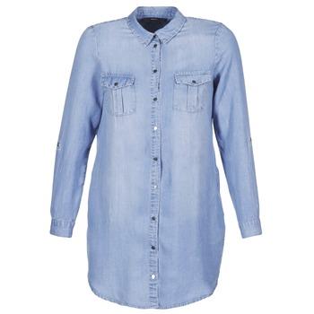 textil Mujer vestidos cortos Vero Moda VMSILLA Azul / Claro