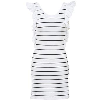 textil Mujer vestidos cortos Vero Moda VMABHY Blanco / Negro