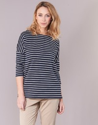 textil Mujer sudaderas Vero Moda VMULA Marino / Blanco