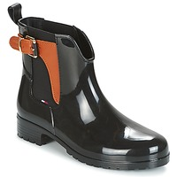 Zapatos Mujer Botas de agua Tommy Hilfiger OXLEY Negro
