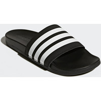 Zapatos Hombre Chanclas Adidas Essentials Chancla Adilette Cloudfoam Plus Stripes Noir / Blanc / Noir
