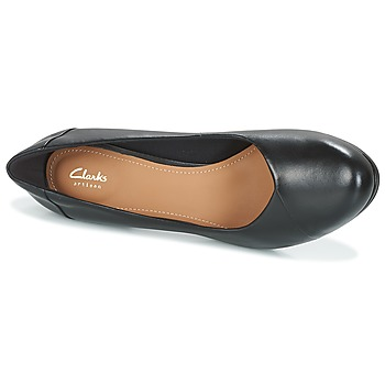 Clarks CHORUS CAROL Negro / Leather