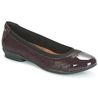Zapatos Mujer Bailarinas-manoletinas Clarks NEENAH GARDEN Morado