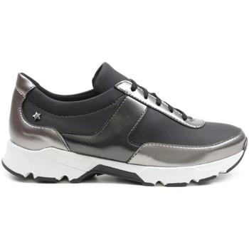 Zapatos Mujer Zapatillas altas Cubanas Zapatilha DI-RUN400 Negro