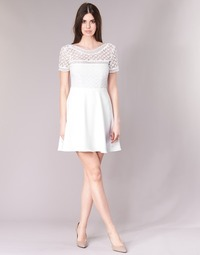 textil Mujer vestidos cortos Betty London INLOVE Blanco