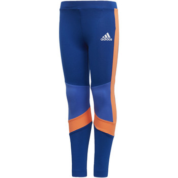 textil Niña leggings adidas Performance Mallas Training Azul / Naranja