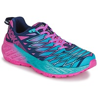 Zapatos Mujer Running / trail Hoka one one W CLAYTON 2 Azul / Rosa