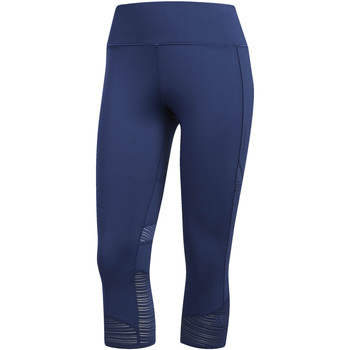 textil Mujer leggings adidas Performance Mallas 3/4 How We Do blue
