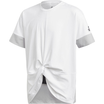 textil Niña camisetas manga corta adidas Performance Camiseta Training Wow Blanco / Negro