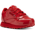 Zapatos Niños Zapatillas bajas Reebok Classic Classic Leather Patent Red