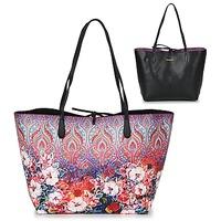 Bolsos Mujer Bolso shopping Desigual BOLS_CAPRI FREYA Rosa / Multicolor