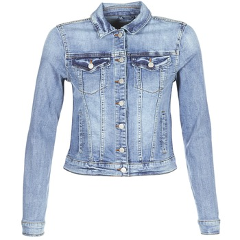 textil Mujer chaquetas denim Vila VISHOW Azul / Medium