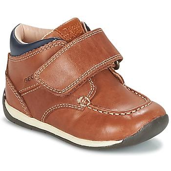 Zapatos Niño Zapatillas bajas Geox B EACH BOY Marrón