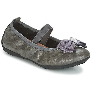 Zapatos Niña Bailarinas-manoletinas Geox J PIUMA BALLERINES Gris