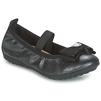 Zapatos Niña Bailarinas-manoletinas Geox J PIUMA BALLERINES Negro