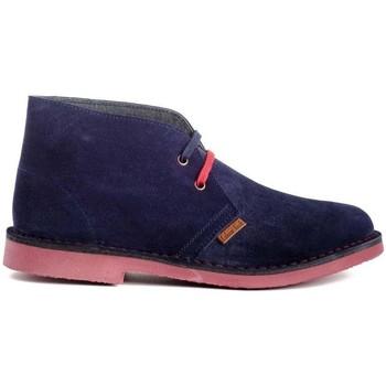 Zapatos Hombre Botas de caña baja Colour Feet MOGAMBO Azul