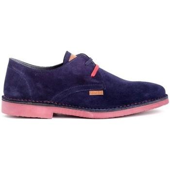 Zapatos Hombre Derbie Colour Feet HATARI Azul