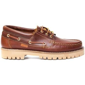Zapatos Hombre Zapatos náuticos Colour Feet NAUTIC Marrón