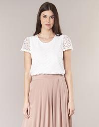textil Mujer Tops / Blusas Betty London I-LOVI Blanco