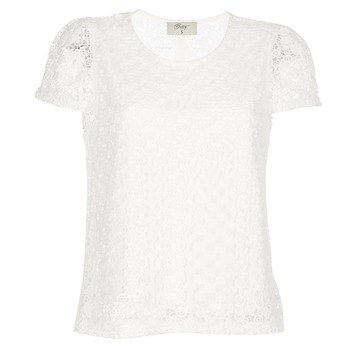 textil Mujer Tops / Blusas Betty London I-LOVI Blanco