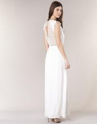 textil Mujer vestidos largos Betty London ILOVEYOU Blanco