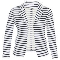textil Mujer Chaquetas / Americana Moony Mood IFAROUCHE Blanco / Marino