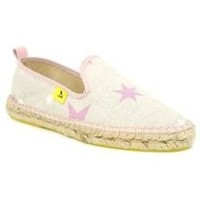 Zapatos Mujer Alpargatas Avispas Slip On Stars Rosa multicolor multicolor
