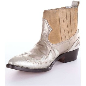 Zapatos Mujer Botines Golden Goose Deluxe Brand G30WS698  Botín Mujer Plata Plata