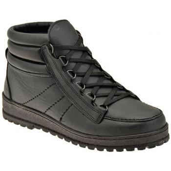 Zapatos Hombre Senderismo Alisport  Negro