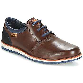 Zapatos Hombre Derbie Pikolinos BIARRITZ M5A Marrón / Azul