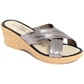 Zapatos Mujer Zuecos (Mules) Summery  Grigio