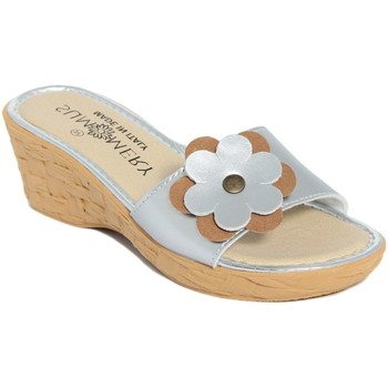 Zapatos Mujer Zuecos (Mules) Summery  Argento