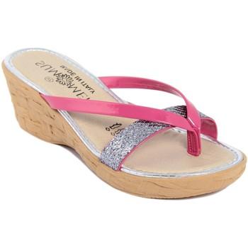 Zapatos Mujer Sandalias Summery  Rosa