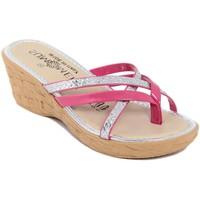 Zapatos Mujer Chanclas Summery  Rosa